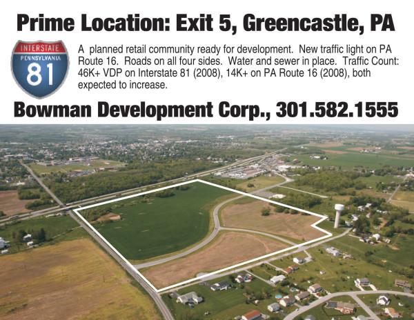 Greencastle - Bowman Development