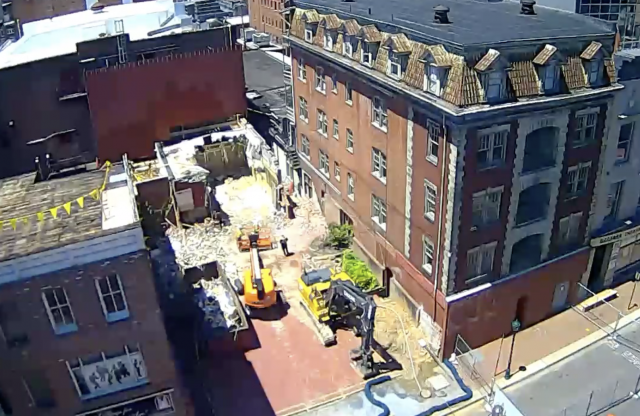 Downtown Construction Live Feed