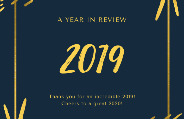 2019- A Year in Review